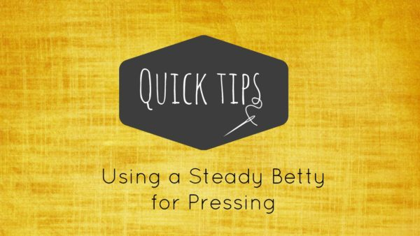steady betty how to press with it