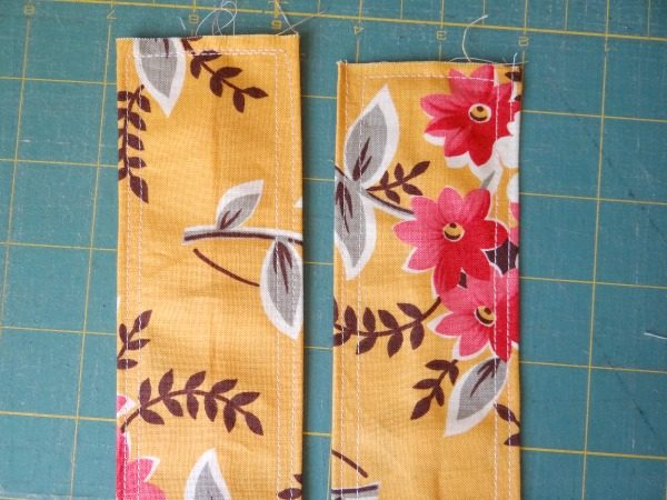 apron straps stitching