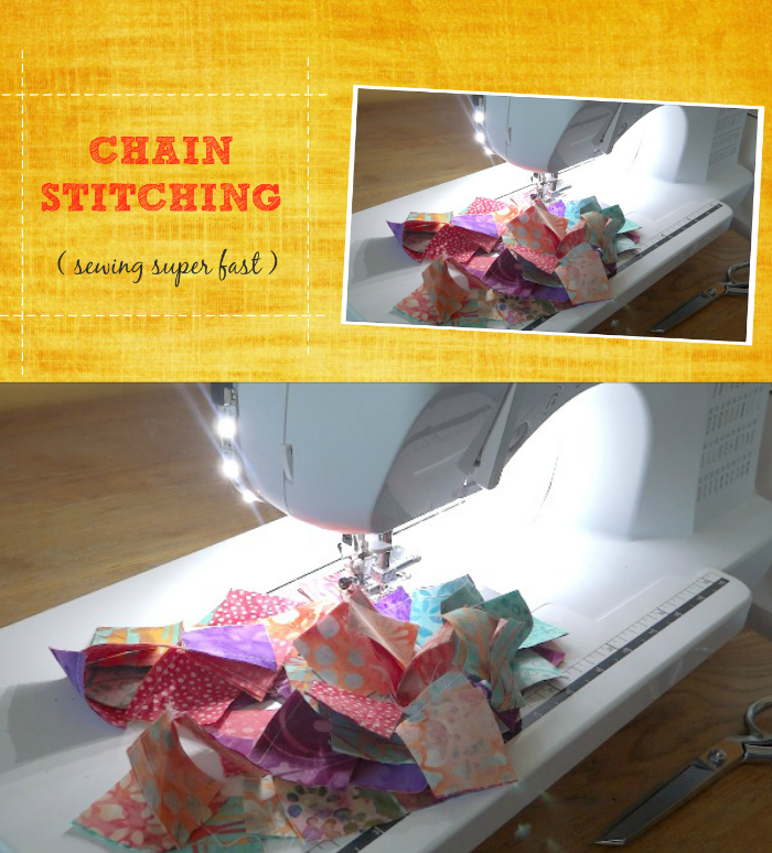 chain stitching tutorial with video