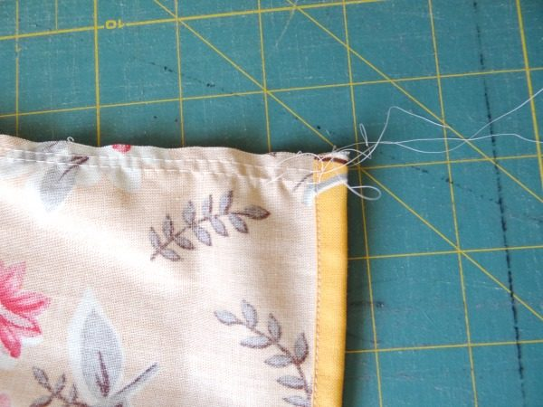 double stitch for gathering
