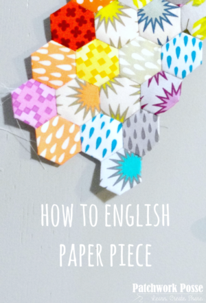 how to english paper piece with video tutorial