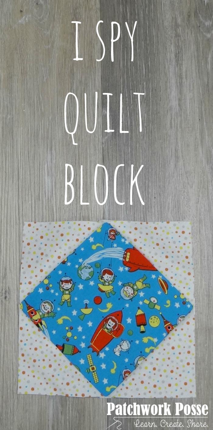I Spy Quilt Block
