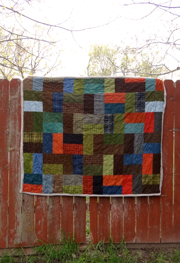 Single Slice Layer Cake Quilt Tutorial
