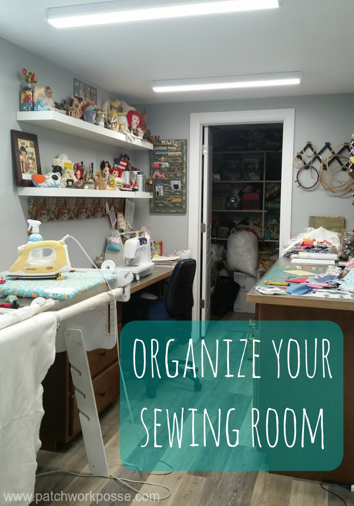 Organize your sewing room. Get all 30 days of organizing plus some extra printables to help along the way. Time to take back that space!