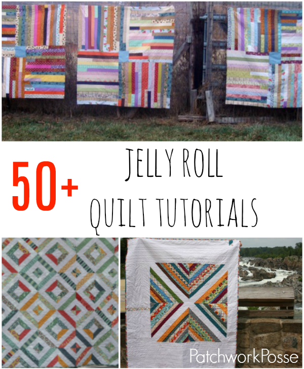 jelly roll tutorials - perfect for that pile of jelly rolls i haven't opened yet!