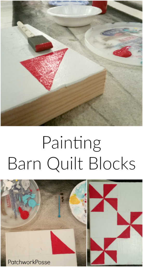 How To Paint Barn Quilt Blocks Patchwork Posse