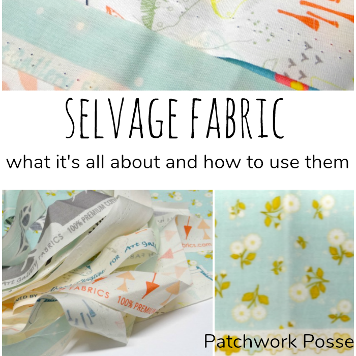 What is selvage and Projects you can make with it
