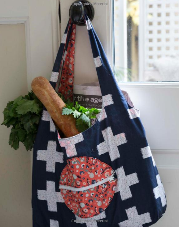 grocery bag from crafty little things book