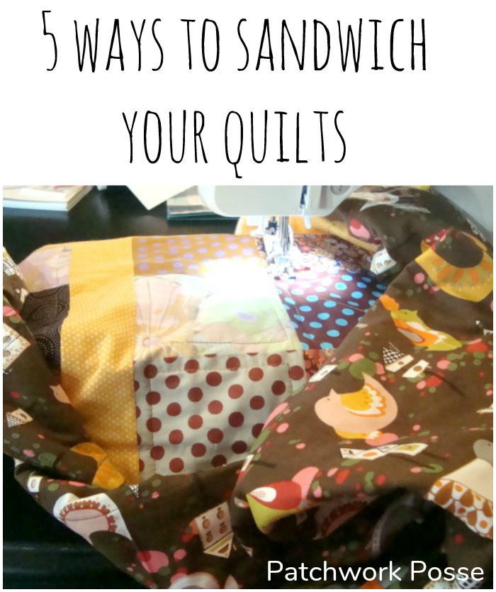 5 Ways to Sandwich Your Quilt To Avoid Bubbles