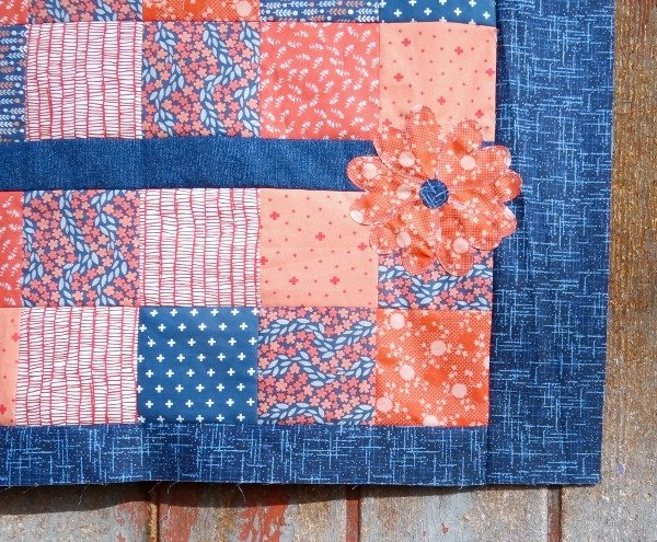 Zippy Baby Quilt with Applique Tutorial