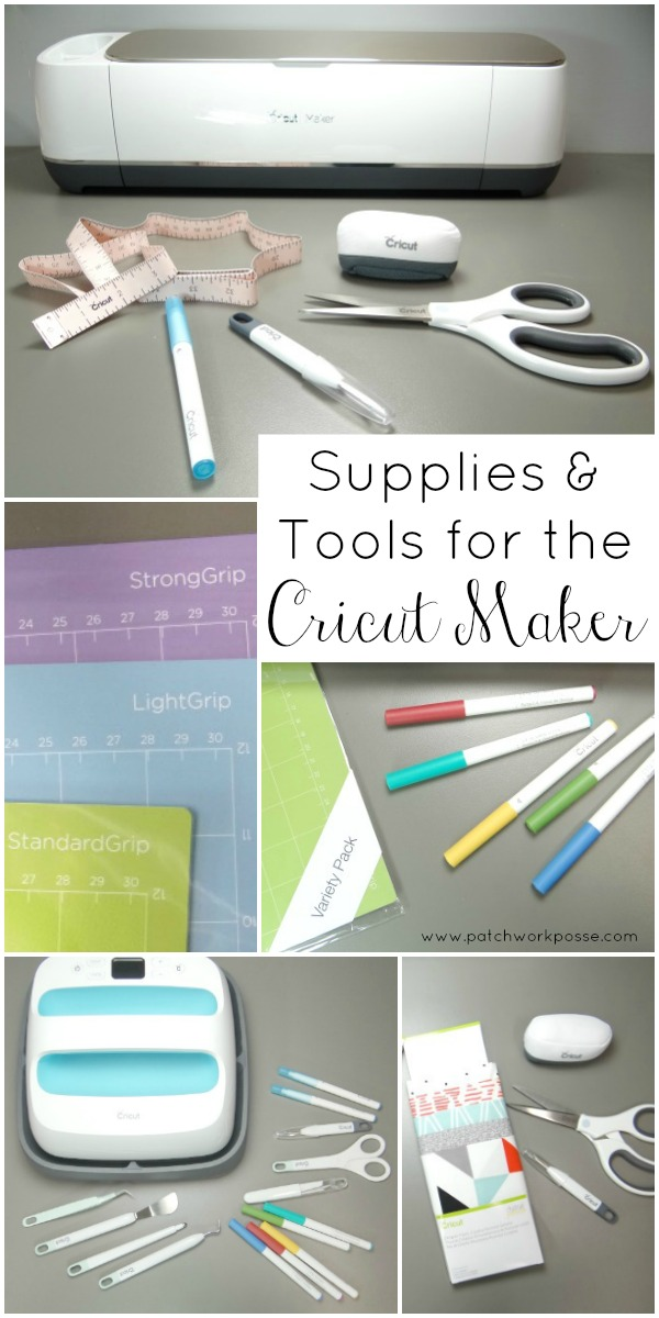 Supplies & Tools for the Cricut Maker that you'll love -