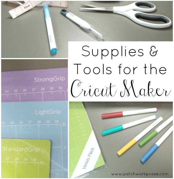 Supplies and Tools for the Cricut Maker