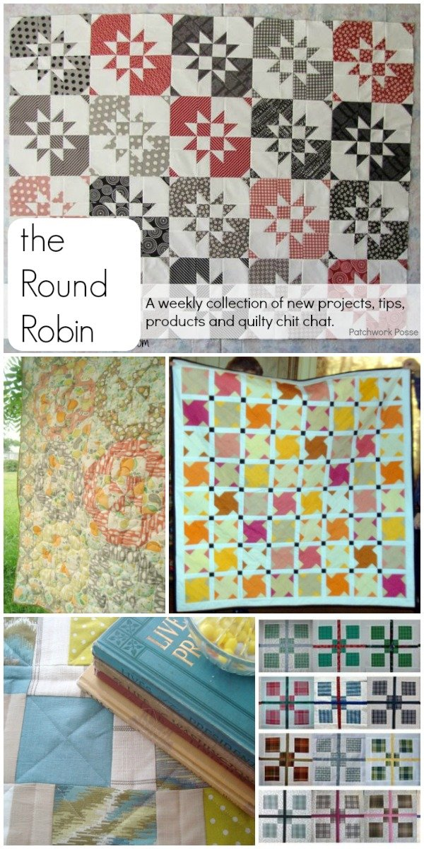The Round Robin Edition 7 – Disappearing Quilt Blocks