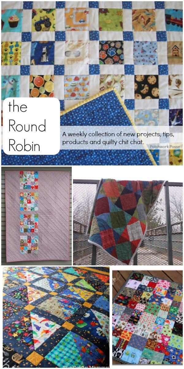 the round robin a weekly collection of new projects, tips and products from patchwork posse.com