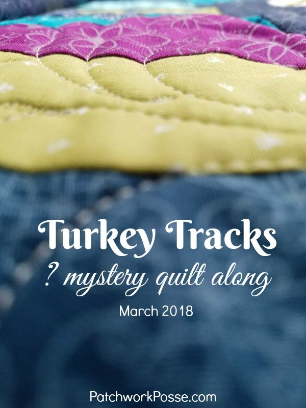 Turkey Tracks Mystery Quilt Along – flying geese units