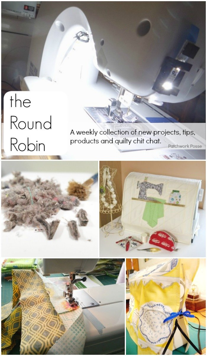 the Round Robin Edition 16- Let's Talk Sewing Machines!