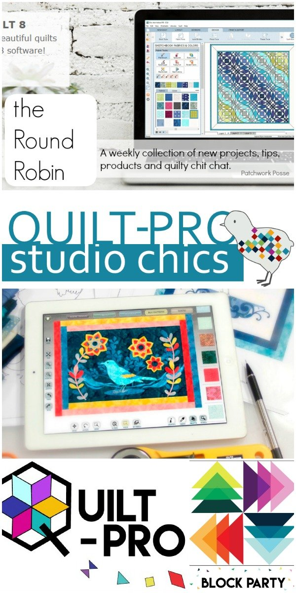 The Round Robin Edition 18 – Designing Quilt Patterns Yourself
