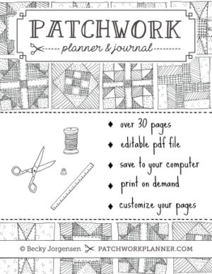 Patchwork Planner & Journal