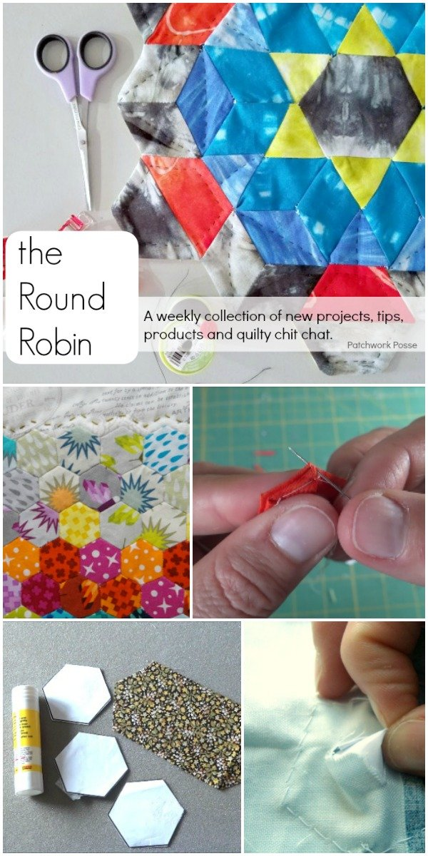 The Round Robin Edition 19 – English Paper Piecing