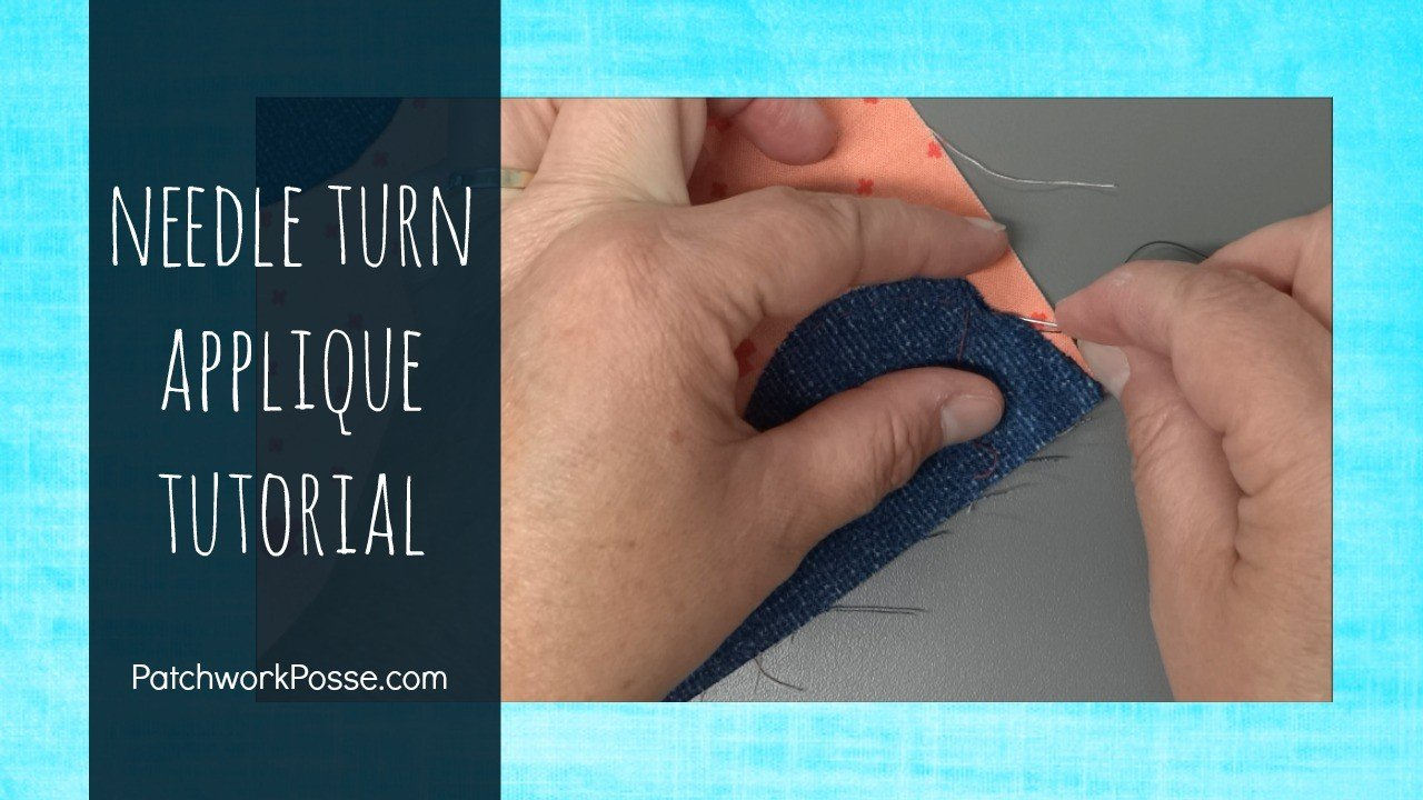 How To Needle Turn Applique-It's Not As Hard As You Think!