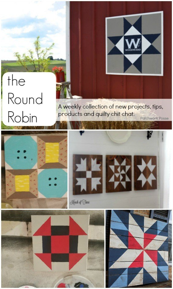 the Round Robin 30 – make your own barn quilt