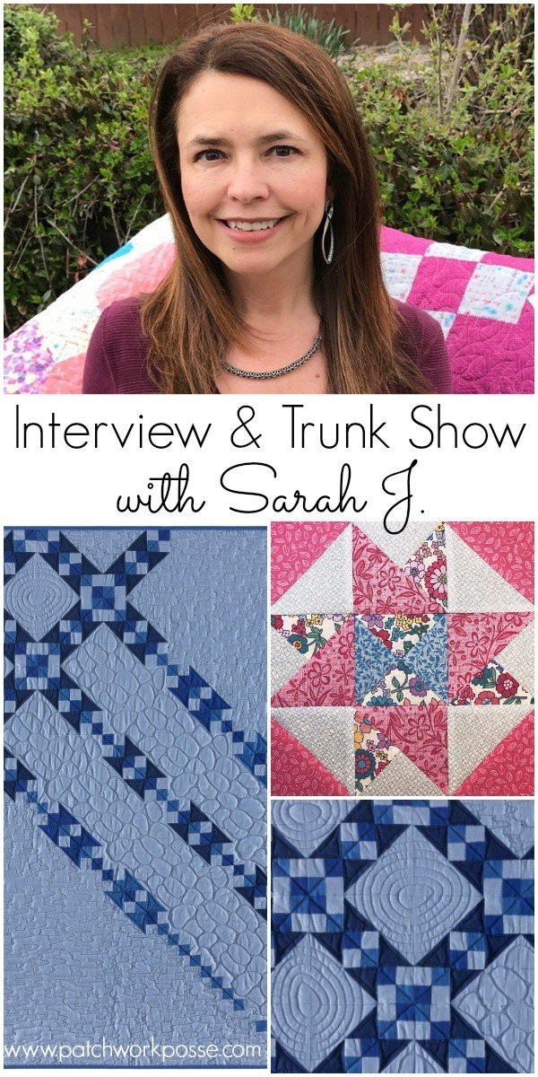 Guest Designer with Sarah J of Fearless with Fabric