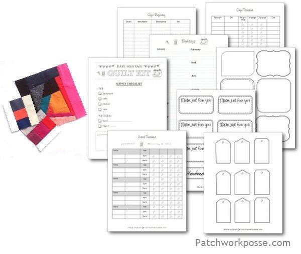 Free Printable Gift Planners