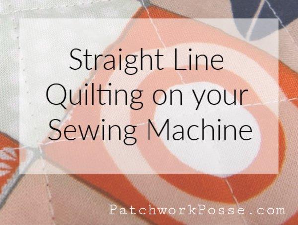 Straight Line Machine Quilting