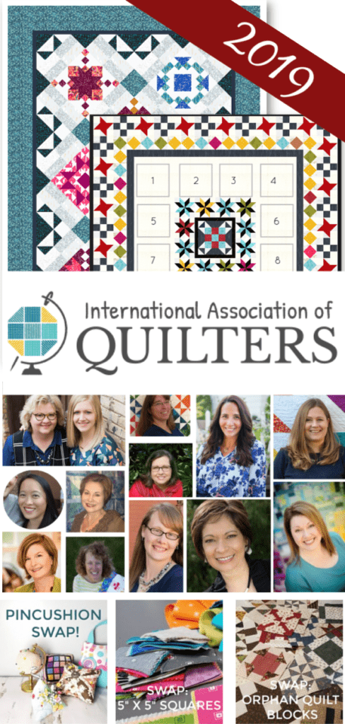 international association of quilters 2019 year #quiltgroup #iaq