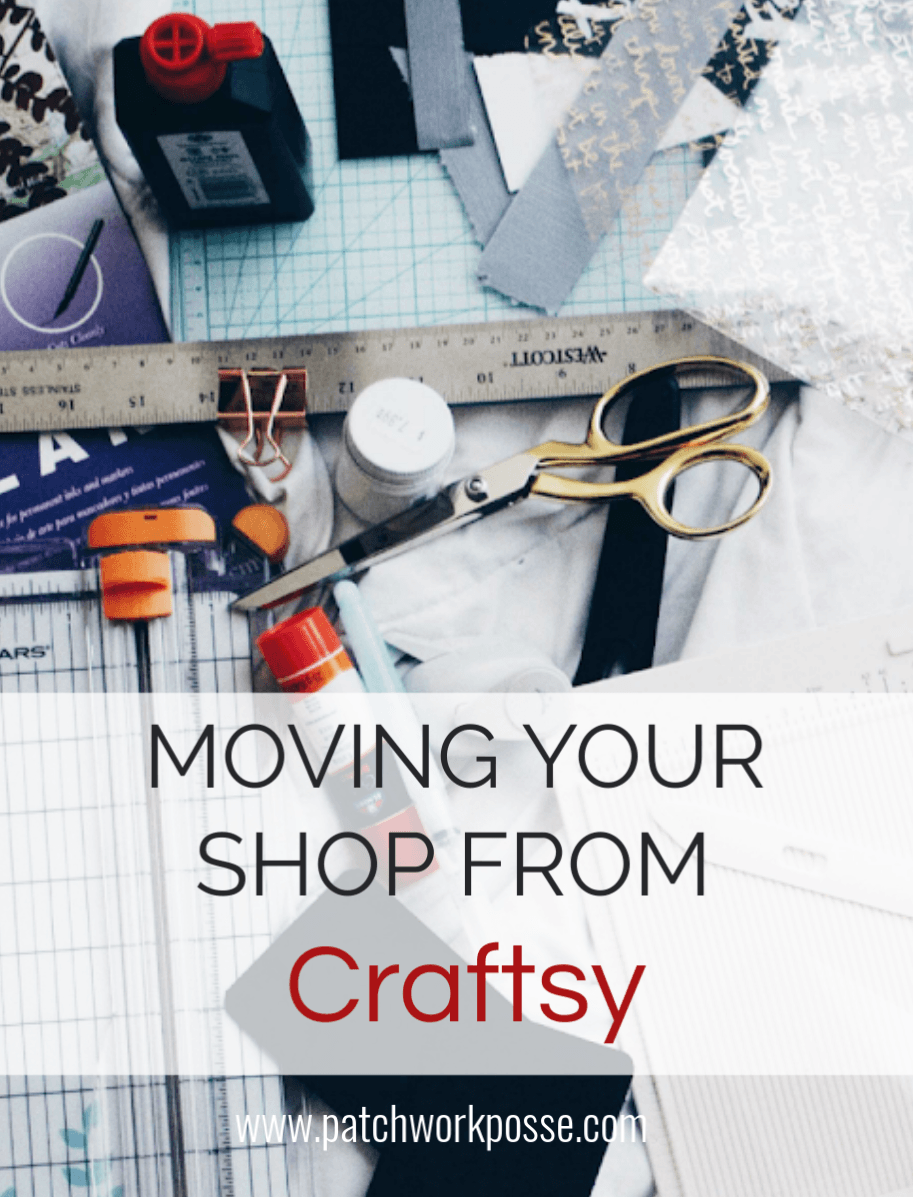 How to move your shop from Craftsy