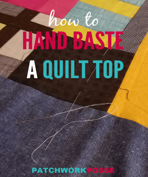 Learn how to hand baste a quilt top. This is for prepping the quilt either for machine quilting or hand quilting. Hints and tips to help as well!