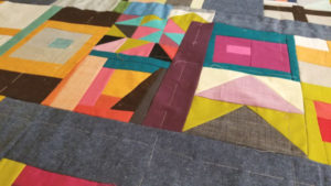 hand basting a quilt top how to