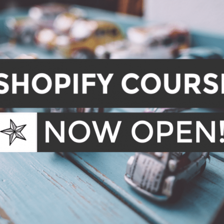 Learn to build a shopify store that you love and works without the stress and pain, with a community to guide and help.