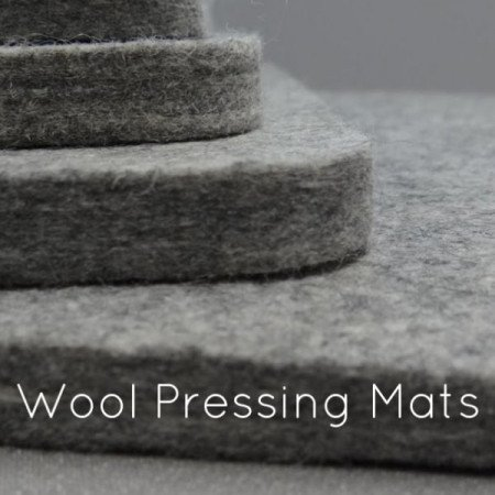 wool pressing mats video with hints and tips for using them