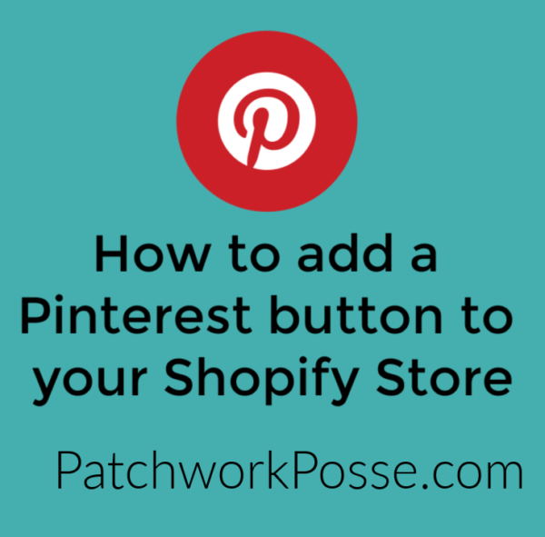 how to add pinterest button to images shopify store 1
