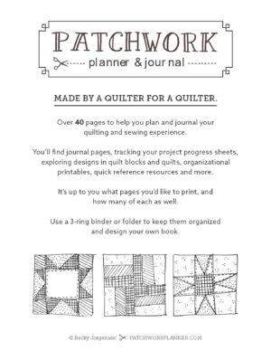 Patchwork Planner01