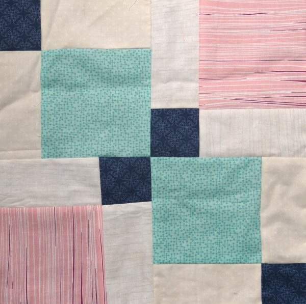 Disappearing Quilt Blocks Quilt Along | Nine Patch Row #1