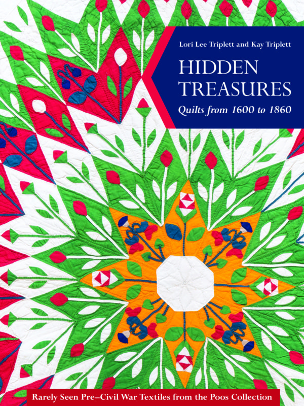 Find out what's inside the new Hidden Treasures Quilt Book! You'll love the quilts that are showcased and their background stories.