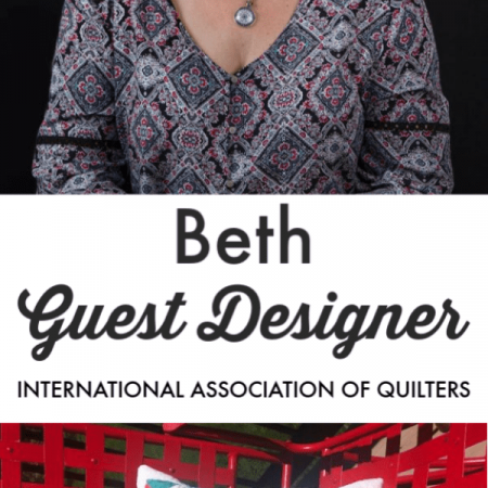 Beth of Eva Paige Designs trunk show and interview with the IAQ!