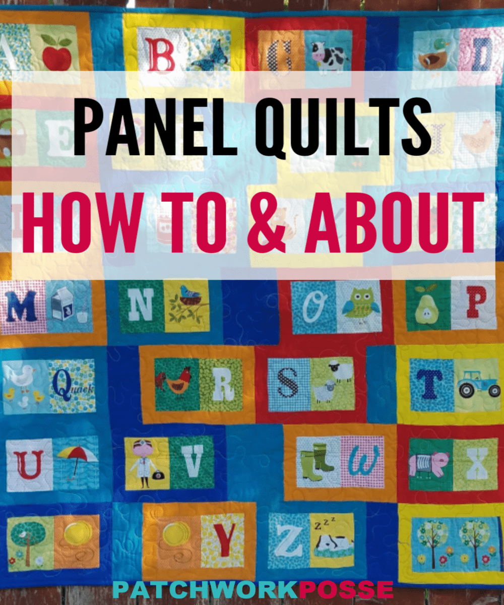 How to Make a Quilt with Fabric Panels