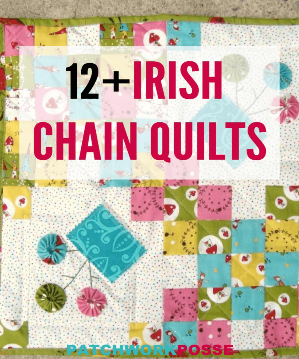 12+ Free Irish Chain Quilt Patterns