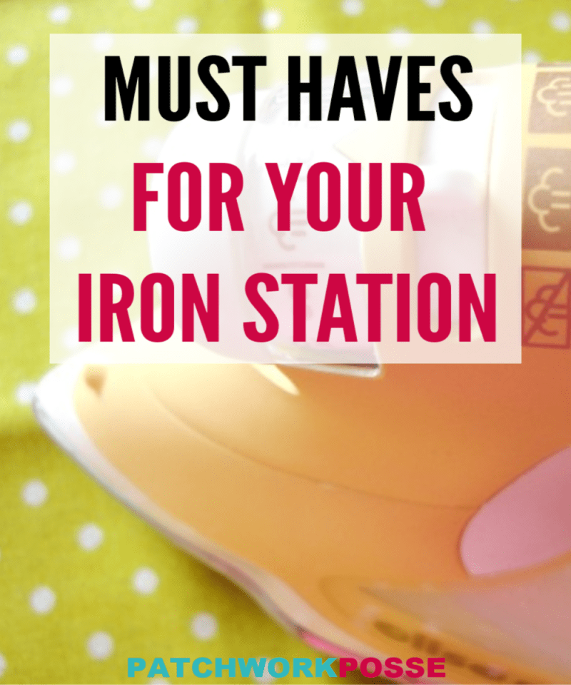 Must Haves for your Ironing Station