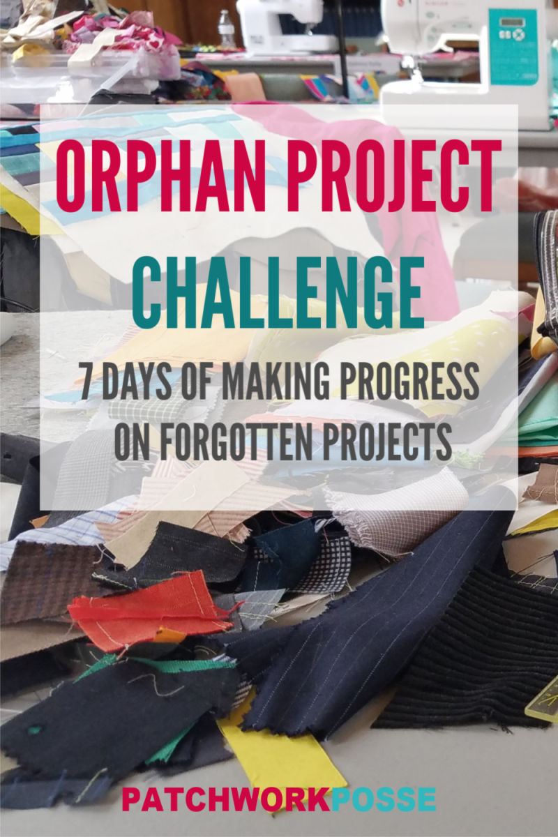 orphan project challenge- 7 days of making progress on forgotten projects
