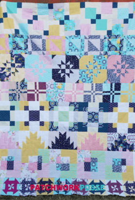 Today is the day we are putting our disappearing quilt blocks into rows and completing the quilt top together! Grab the instructions & show us your quilt!