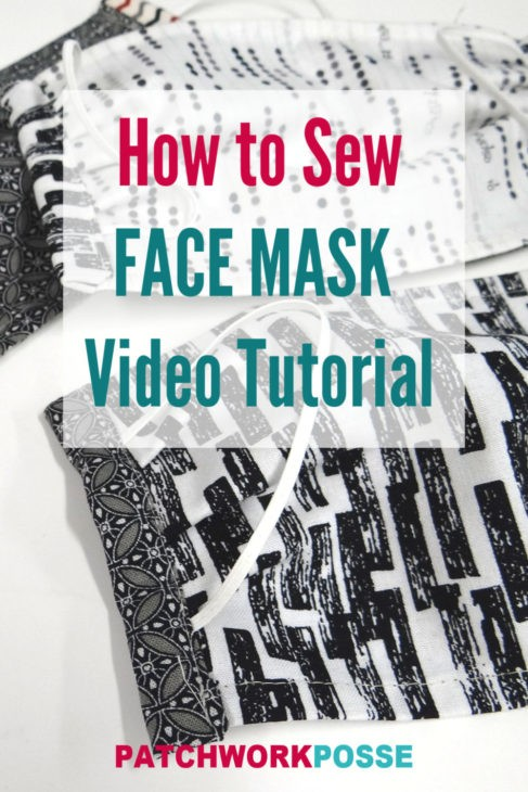 how to sew a face mask video tutorial