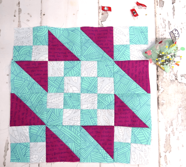 Sunny Day Quilt Block Video Tutorial