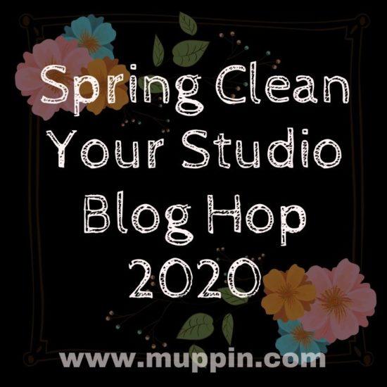 Spring Clean Your Studio – Blog Hop