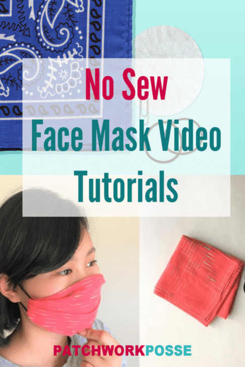 Learn how to make a face mask using the no sew method.