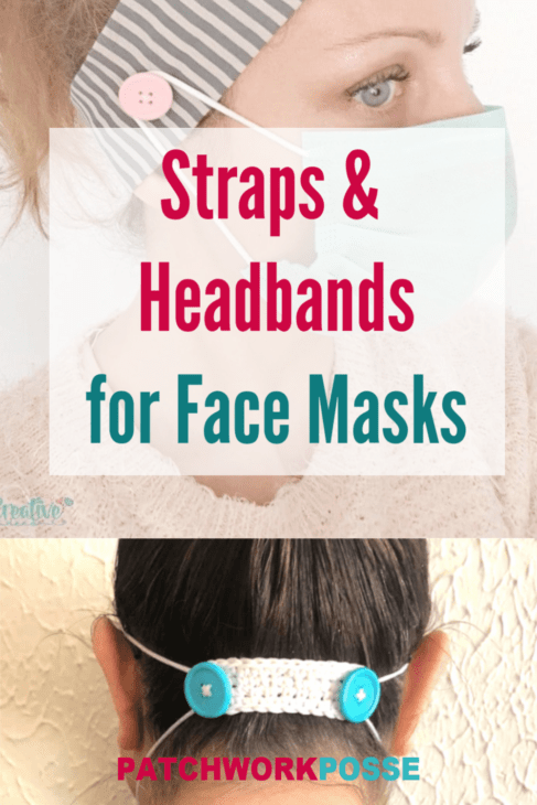 Learn how to make some adjustments to your headbands or sew a strap that helps with the face masks.
