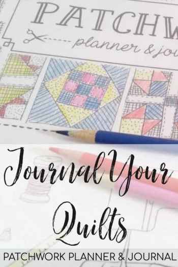journal your quilts class